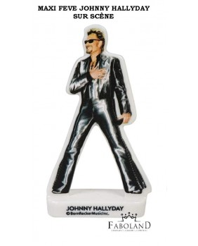 "Maxi feves ""Johnny Hallyday"" on stage - high 7.5cm"