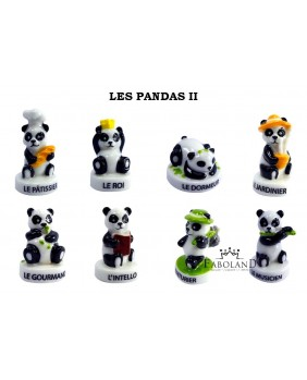 The pandas 2 - box of 100