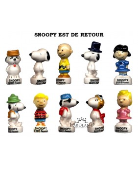 SNOOPY is back - box of 100