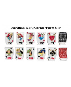 "Détours de cartes ""filet or"""