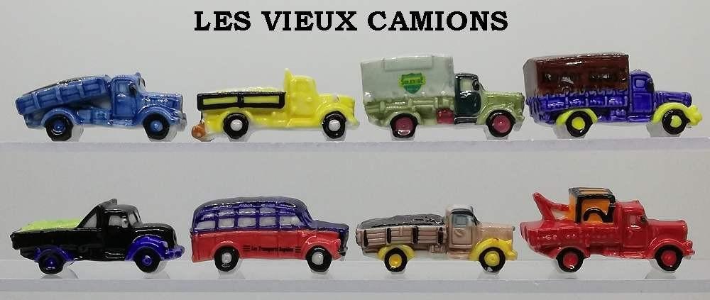 Fèves LES VIEUX CAMIONS    DV1637