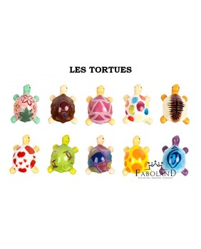 The decorative turtles - box of 100