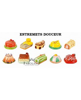 The sweet desserts - box of 100