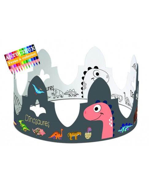 Couronne DINOSAURES