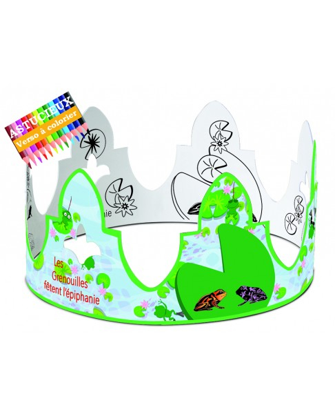 Frogs crown
