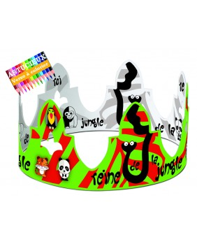 Jungle animals crown
