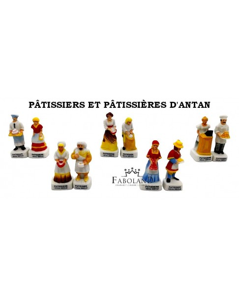 Pastry chefs from the old time - box of 100