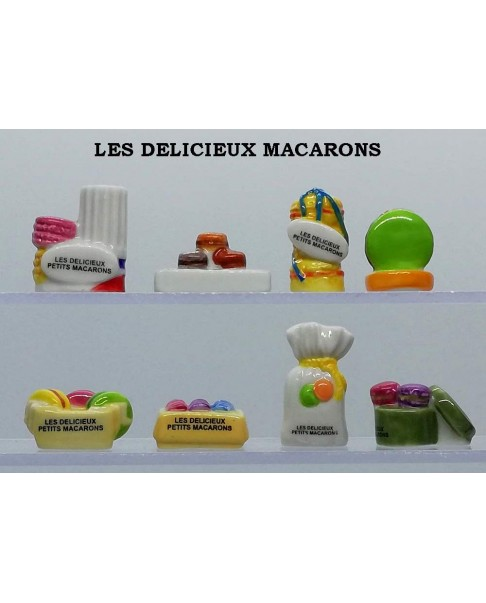 The delicious macaroons
