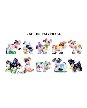 Vaches paintball