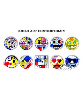 Emoji art contemporain