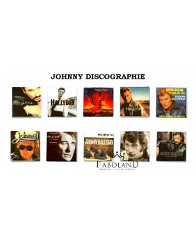 JOHNNY HALLYDAY discographie