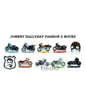 JOHNNY HALLYDAY passion 2 roues