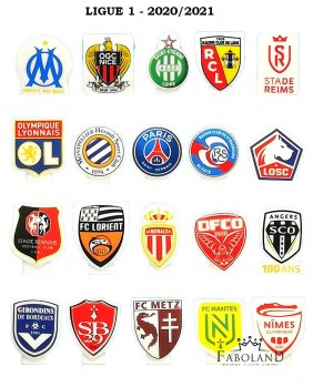 Premier league - 2020/2021 - foot FRANCE - box of 100