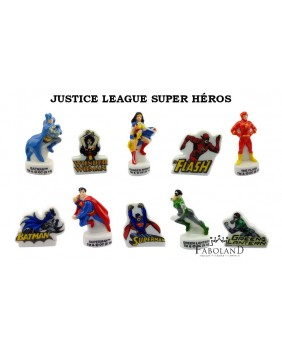Justice league super héroes