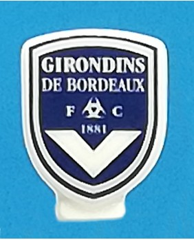Fève à l'effigie du Football Club des Girondins de Bordeaux - ligue 1 saison 2020/2021 football