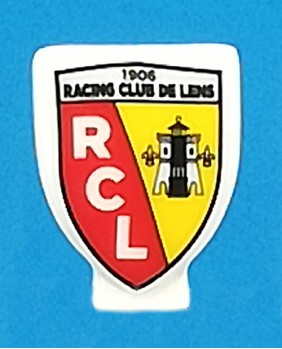 Fève à l'effigie du Racing Club de Lens - ligue 1 saison 2020/2021 football