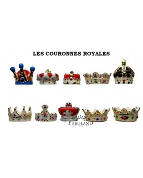 The royals crowns - box of 100