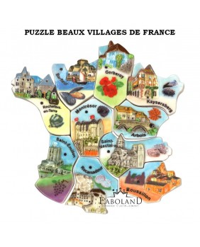 Lovely villages of France - Puzzle