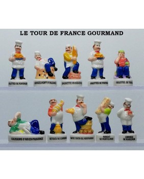 The gourmand tour de France