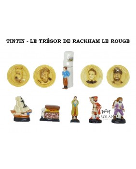 TINTIN - The RACKHAM RED treasure