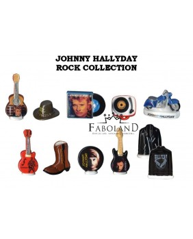 JOHNNY HALLYDAY Rock collection