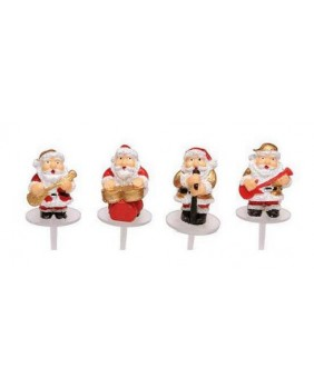 Santa claus rock music X4