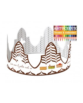 Millefeuille crown