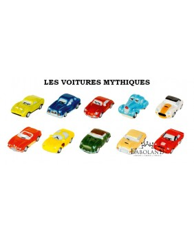 Mythical cars - box of 100
