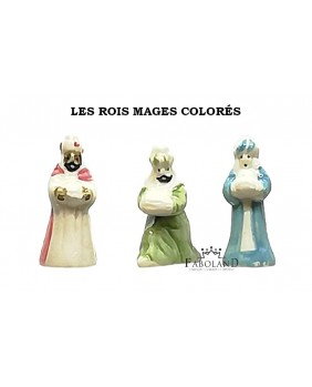 Santons - colorful wise man - box of 100