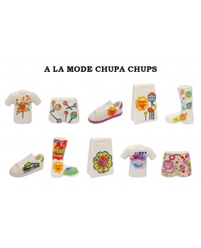 In the chupa chups style
