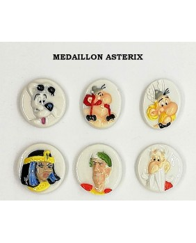 Medaillon asterix 2014