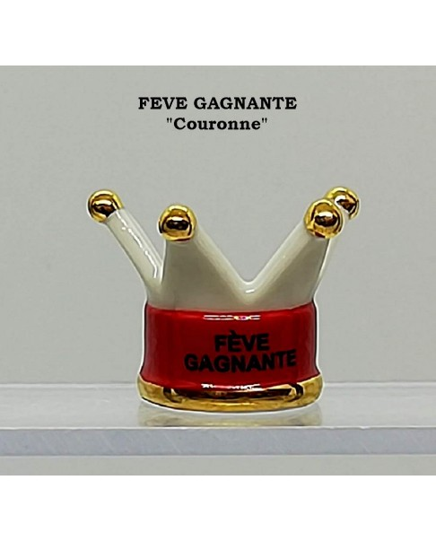 "Winning fève numbered ""crown"""