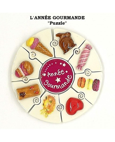 "The gourmand year ""puzzle"""