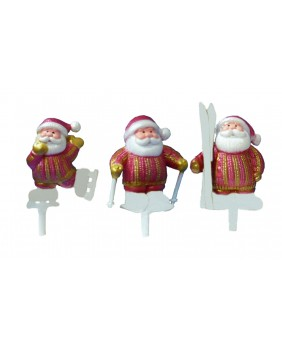 Santa claus striped sweater x3