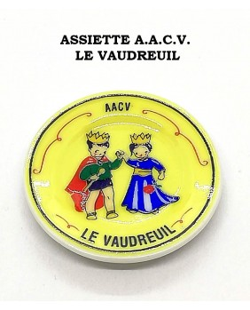 A.A.C.V Vaudreuil's plates