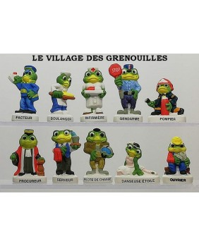 The frog's village