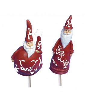 Santa claus pointed hat x2