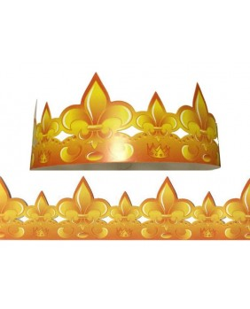 Set of 50 golden crowns Great prestige lys