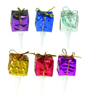 Mini gift-wrapping x6
