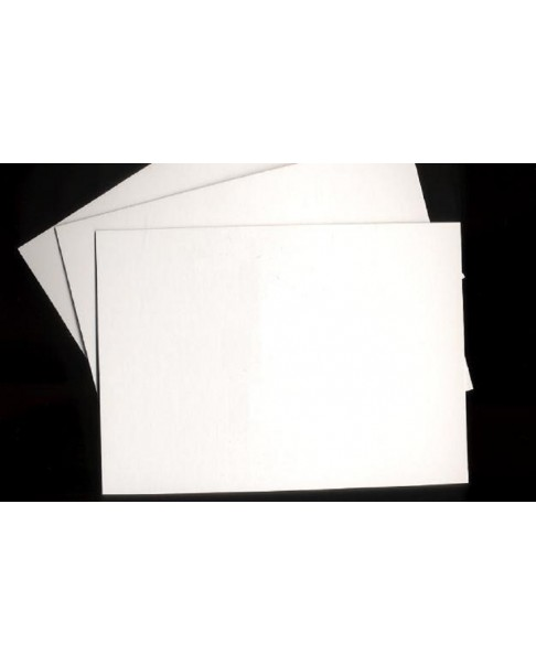 LOT DE 20 FONDS CARTON BLANC