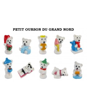 Petit ourson du grand nord
