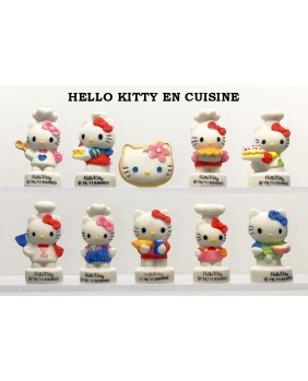 Hello kitty in the kitchen - box of 100