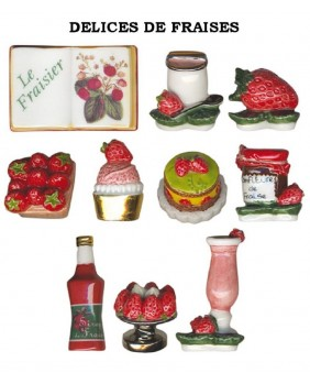 Strawberries delights - box of 100