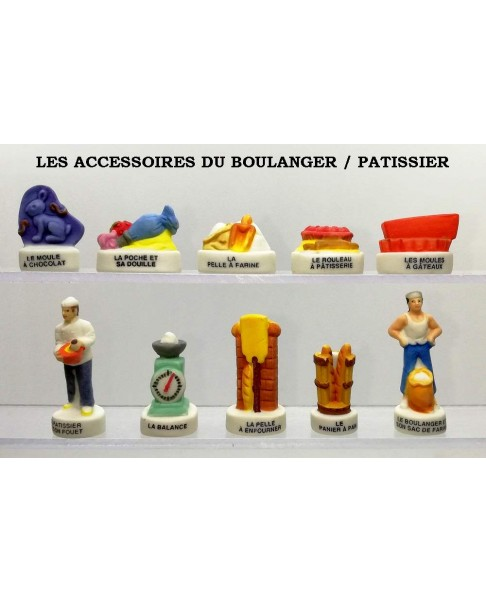 The accessories of the pastry chef/baker