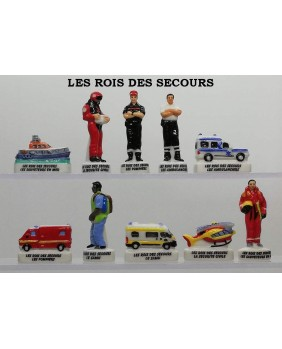 "Kings of rescue ""firefighters and ambulance"" - box of 100"