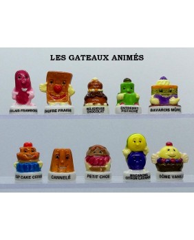 The animated cakes - box of 100