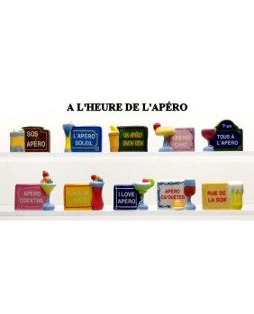The aperitif time - box of 100
