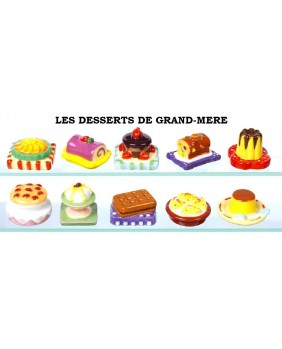 Grandmother's desserts - box of 100